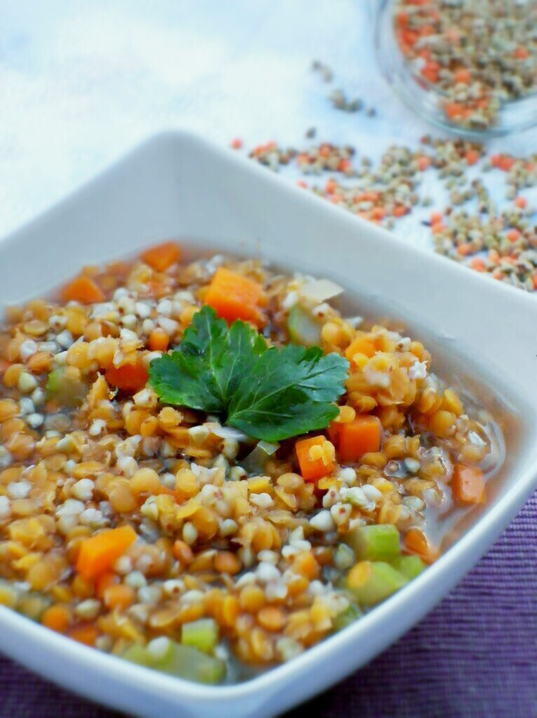 how to cook red lentils soup